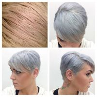 Kenra Color Silver Metallics on Pinterest | Silver Hair ...