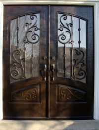 Double Front Entry Doors - Rec Top - Orleans Panel Design ...
