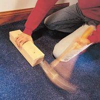 DIY Carpet Kicker ~ If you have any loose carpet that ...