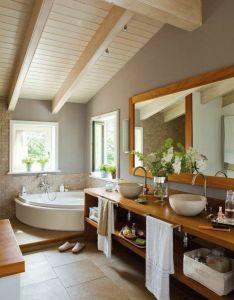 Bathroom inspiration also comment creer une salle de bain zen decoration house and interiors rh pinterest