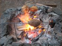 Camping Fire Pit Grill