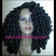 crochet braid wig big bouncy