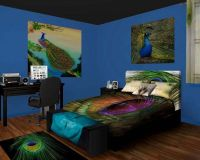 Peacock bedroom Peacock Bedroom Decor for the Extravagant