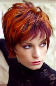 short red hairstyles number