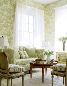 Fancy classic room wallpaper brings your memories in childhood extravagant green arts natural leaf wallpapers ideas also and more decor pinterest rh