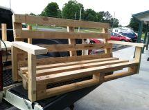Pallet Porch Swing Yard Projects Swings