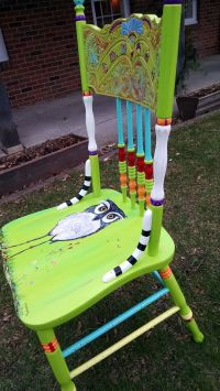 Carolyn's Funky Furniture: The Painted Chairs | New home ...