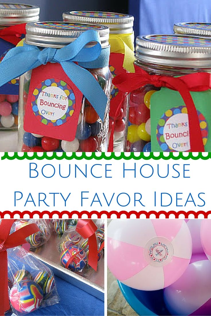 Find The Best Bounce House Party Favor Ideas Here! If You Or Your