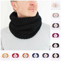 Chunky Crochet Cowl, Bulky Unisex Scarf Cowl, Infinity ...