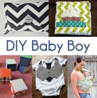 DIY Baby Stuff, very cute clutch for diapers or other baby