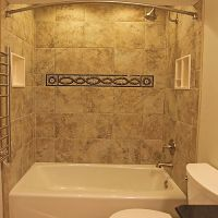 bathroo wall tub surronds | shower panel,Granite tub ...