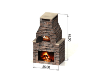 outdoor pizza oven with fireplace - Google Search ...