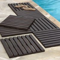 instant wood deck tiles for concrete patios   For the home ...