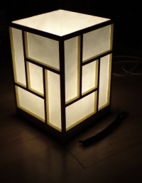 DIY: Building a Japanese shoji-style ambient lamp  the ...