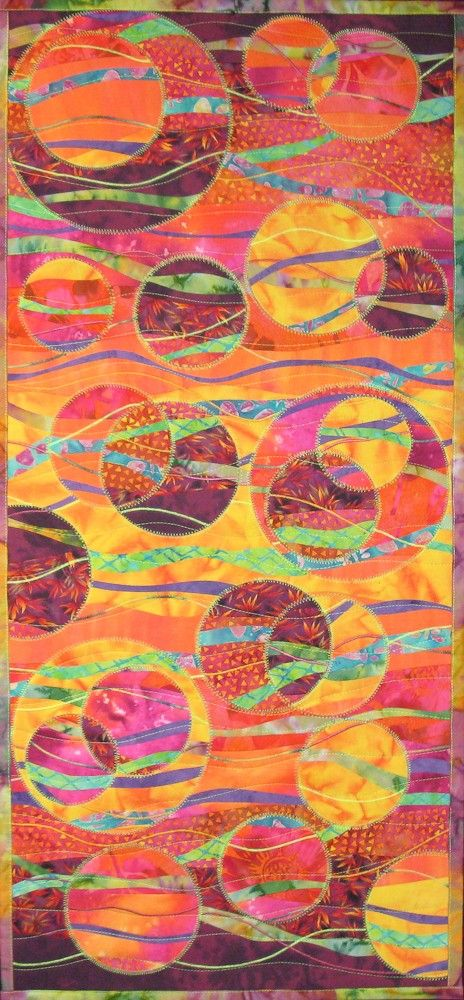 Fiber Art Quilts on Pinterest  Landscape Art Quilts