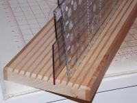 Quilting Ruler Rack - I have built about 20 quilting ruler ...