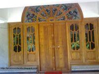 wood windows | style arched front door wooden window door ...