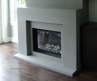 Contemporary Fireplace Mantels Family Room Contemporary ...