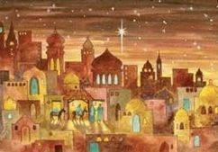 Bethlehem In First Christmas Card First Touch Christmas