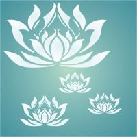 Create a calming zen vibe with this fabulous lotus flower ...