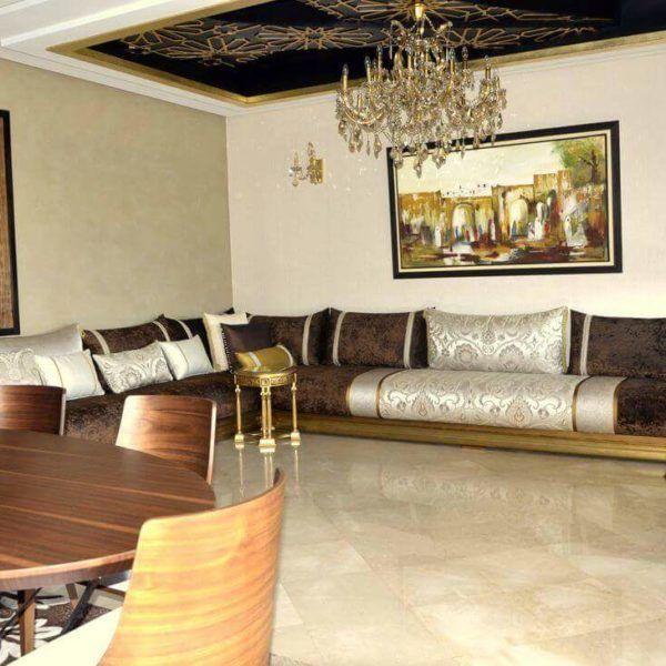 Espace Deco  Salon Marocain Ralisation du talentueux Architecte dintrieur de NesDisgn
