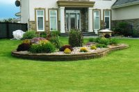 flower bed landscaping ideas | Small Flower Bed | Garden ...
