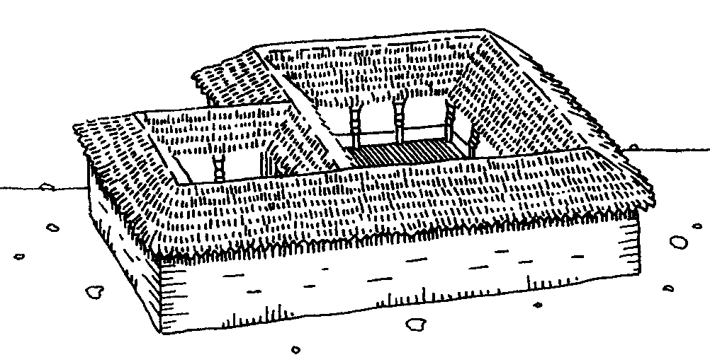 2. Yoruba-style house The Yoruba people of what is now