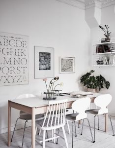All white home with lots of character via coco lapine design also rh pinterest