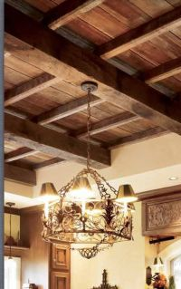 Barnwood ceiling | my new kitchen | Pinterest | Ceilings ...