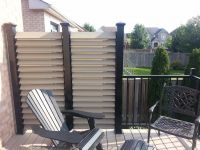 Back Porch Privacy Screen | Extrieur | Pinterest | Porch ...