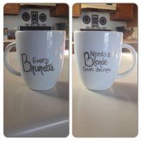 Best Friend Sharpie Mug   DIY   Pinterest   Craft