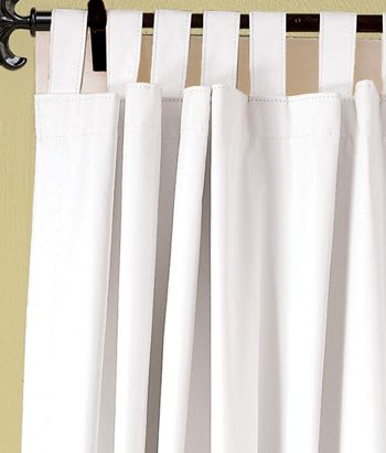 Blackout Tab Top Curtains Great Gor Day Sleepers! Get White