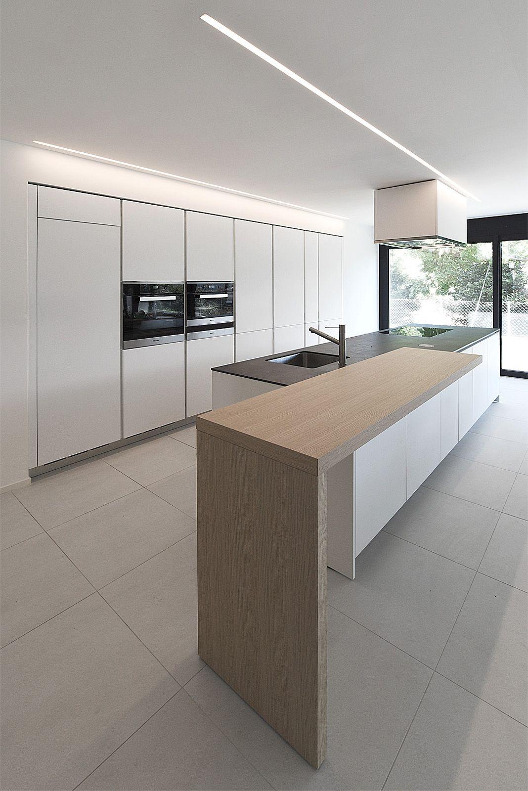 Cucina Varenna Alea Moderna Di Design Con Piano Snack In