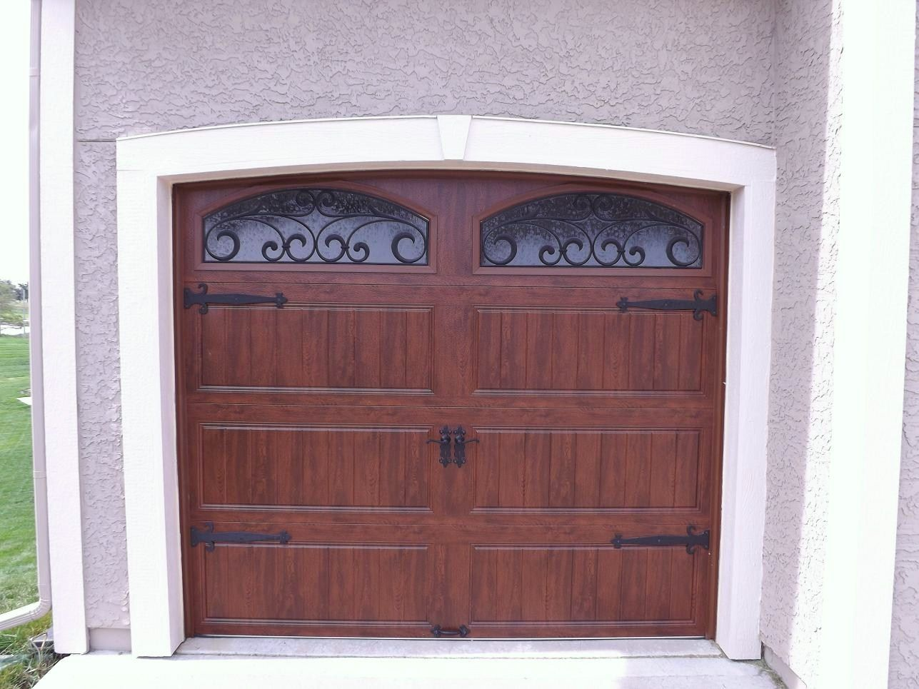 Dark Garage Door Clopay Ultra Grain Finish