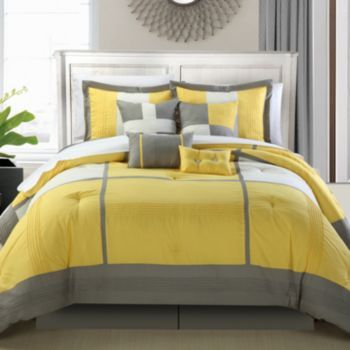 Room dorchester pc bed set kohls love the yellow also bedroom makeover rh pinterest