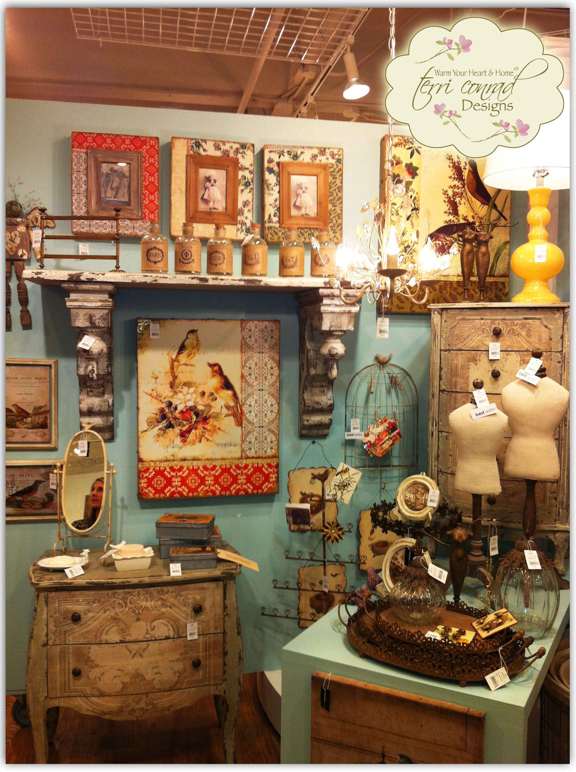 Terri Conrad Designs For Creative Co Op #vintage Inspired #home