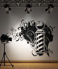 Vinyl Wall Decal Sticker Barbershop Design #OS_AA594 ...