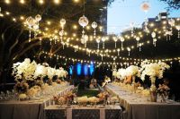 Excellent Patio String Lights Ideas. Lighting: How To Hang ...