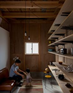 Image of from gallery ishibe house alts design office photograph by also another simple shelving concept ideas pinterest rh