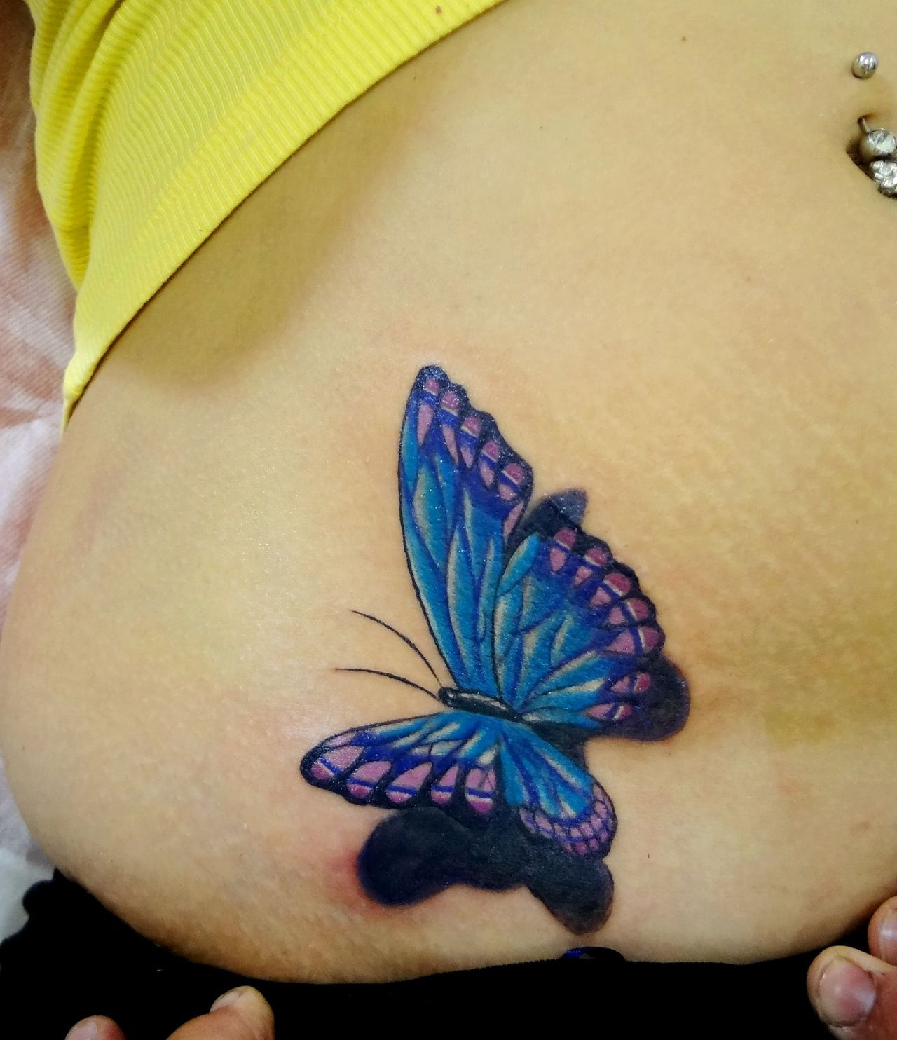 Mariposas 3d Tattoo Trendy Butterfly D Tattoo And Tattoo Image
