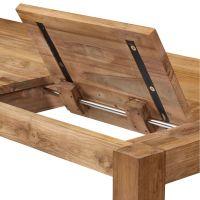 Extendable Kitchen Table: Charming Teak Wooden Extendable ...