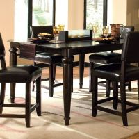 Kincaid Furniture 46-058 Somerset Tall Dining Table ...