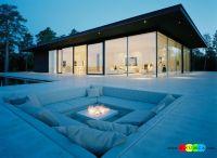 Outdoor / Gardening:Create Outdoor Lounge With Sunken ...