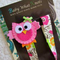 Girl Pacifier Clip, Owl Pacifier Clip, Flower Pacifier ...