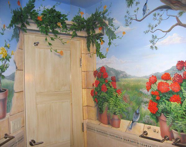 Beauty Garden Wall Murals Design Art Pinterest Gardens