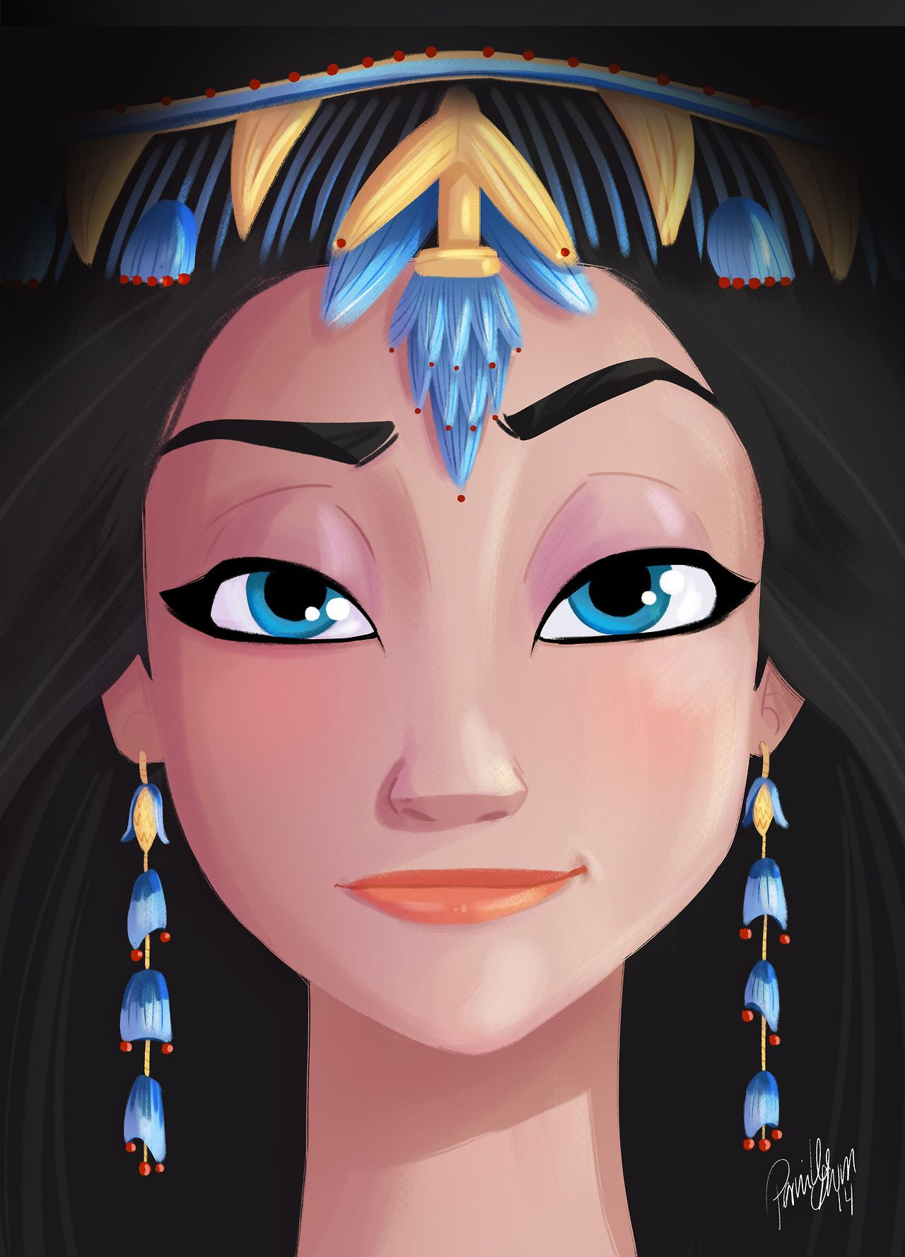 There Should Be An Egyptian Princess That Looks Just Like