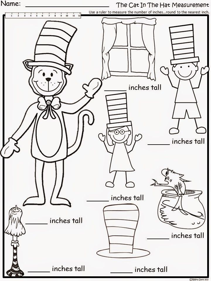 Free: The Cat In The Hat Measurement. For educational