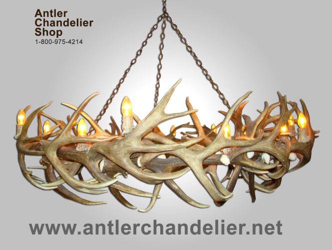 Deer Antler Chandelier Xl Chandeliers