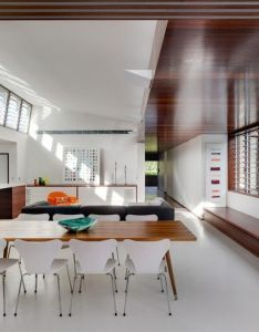 Accentuating an arrival point and promoting connection were the key concepts for award winning queens park residence main entry hall branches off also  contemporist home decor  architecture rh pinterest
