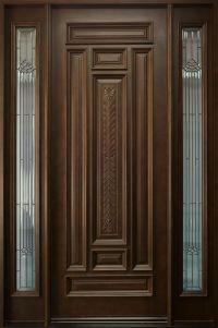 front single door designs in kerala style   Exterior Door ...